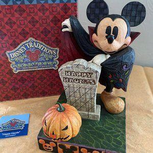"Mickey Mouse ""Happy Haunts"" by Jim Shore w/ Box"